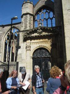 Temple Church entrance