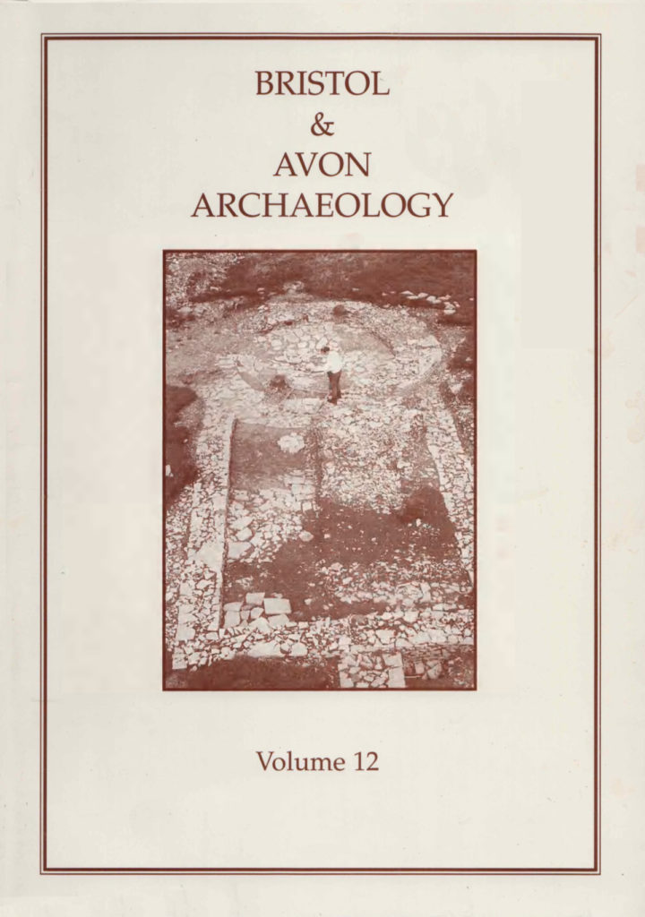 Bristol and Avon Arhchaelogy Journal Volume 12
