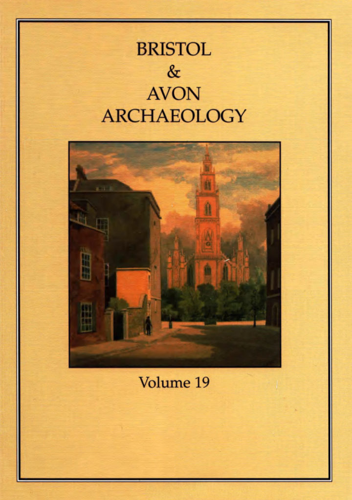 Bristol and Avon Arhchaelogy Journal Volume 19