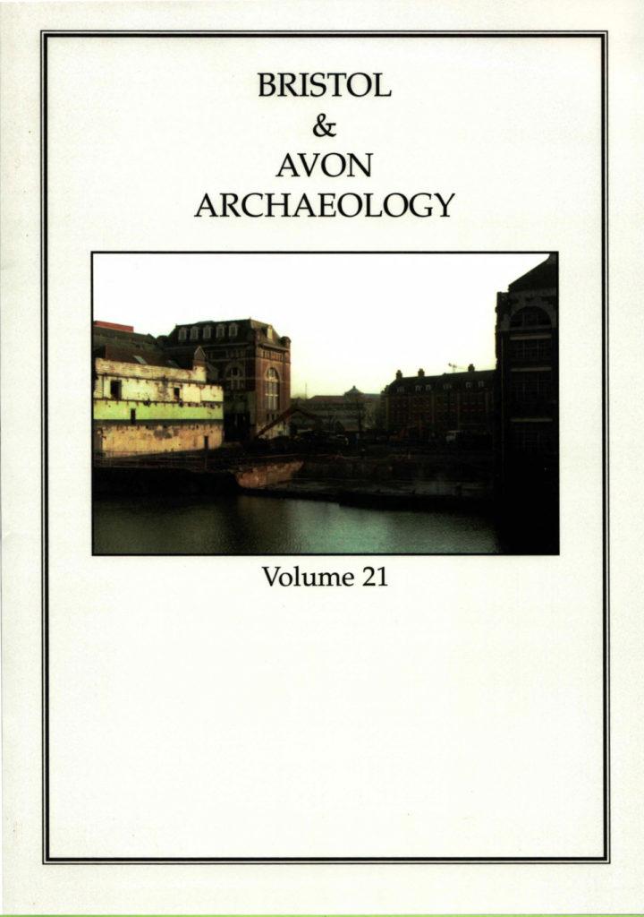 Bristol and Avon Arhchaelogy Journal Volume 21