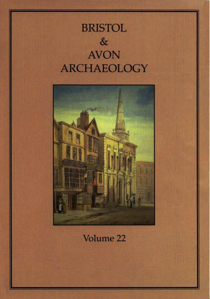 Bristol and Avon Arhchaelogy Journal Volume 22